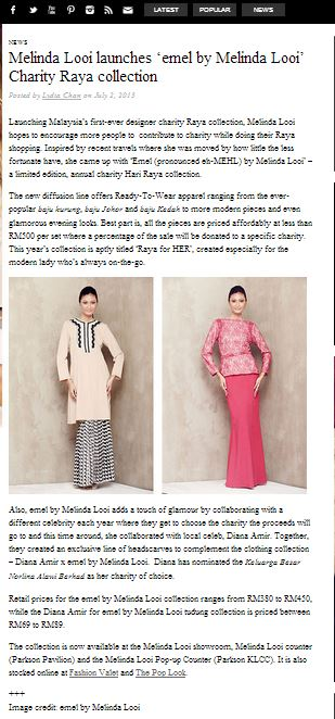 tongue in chic baju raya baju kurung 2013